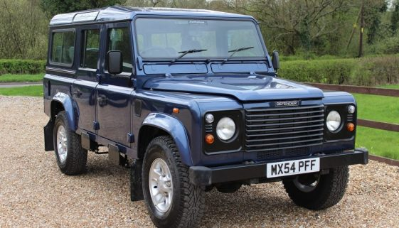 2004 54 DEFENDER 110 TD5 COUNTY STATION WAGON CAIRNS BLUE
