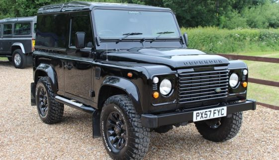 2007 57 DEFENDER 90 TDCI COUNTY HARD TOP JAVA BLACK