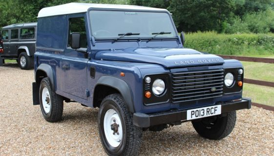 2013 13 DEFENDER 90 TDCI HARD TOP TAMAR BLUE