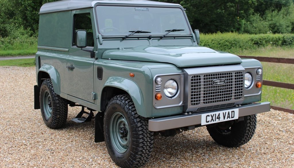 2014 14 DEFENDER 90 TDCI HARD TOP KESWICK GREEN