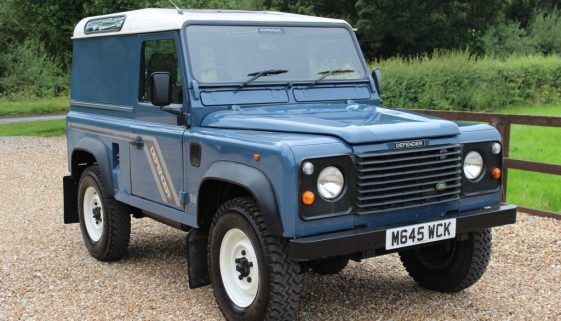 1995 M DEFENDER 90 300TDI COUNTY HARD TOP ARLES BLUE