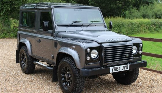 2014 64 DEFENDER 90 TDCI XS STATION WAGON CORRIS GREY