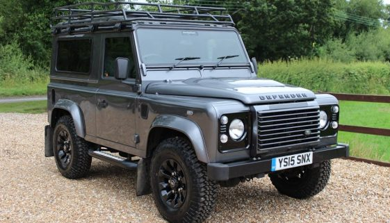 2015 15 DEFENDER 90 TDCI XS STATION WAGON CORRIS GREY