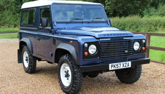 2007 57 DEFENDER 90 TDCI HARD TOP CAIRNS BLUE