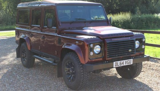 2015 64 DEFENDER 110 TDCI XS STATION WAGON MONTALCINO RED