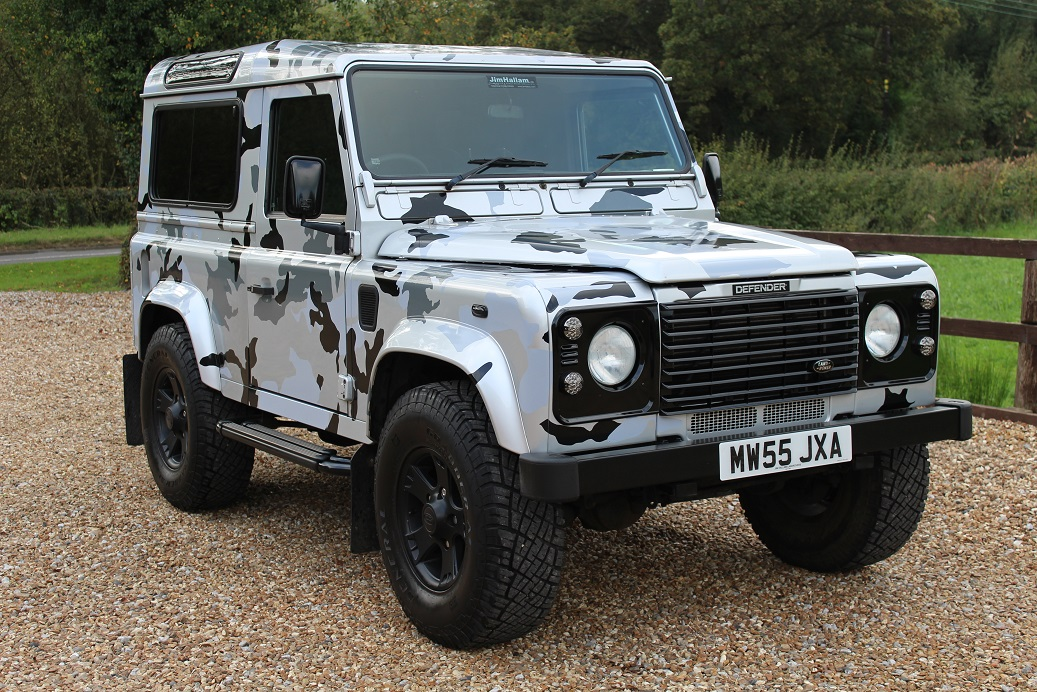 Jim hallam land rover range rover specialists since 1960 for Interieur defender 90